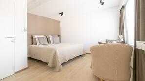 Ropa de cama de alta calidad y minibar (con algunos artículos gratuitos)