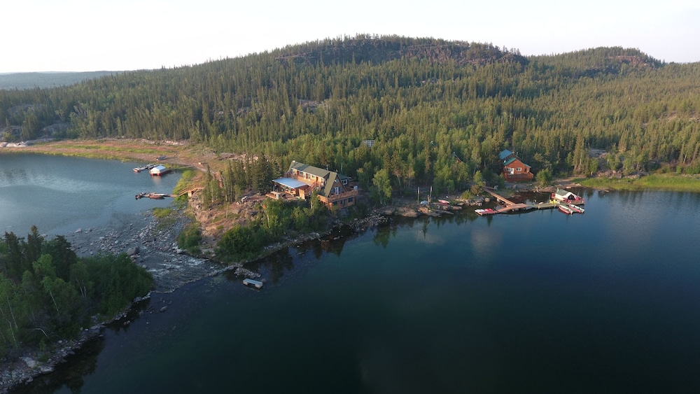 Aerial View, Yellow Dog Lodge
