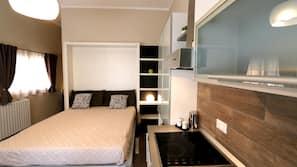 1 camera, una scrivania, ferro/asse da stiro, Wi-Fi gratuito