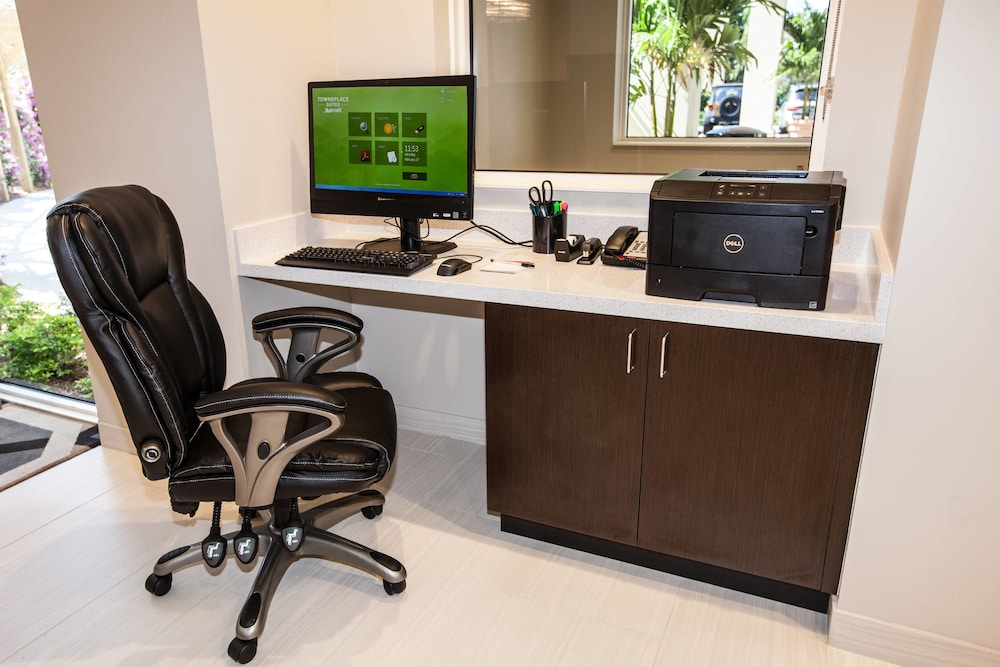 Business Center, TownePlace Suites By Marriott Boynton Beach