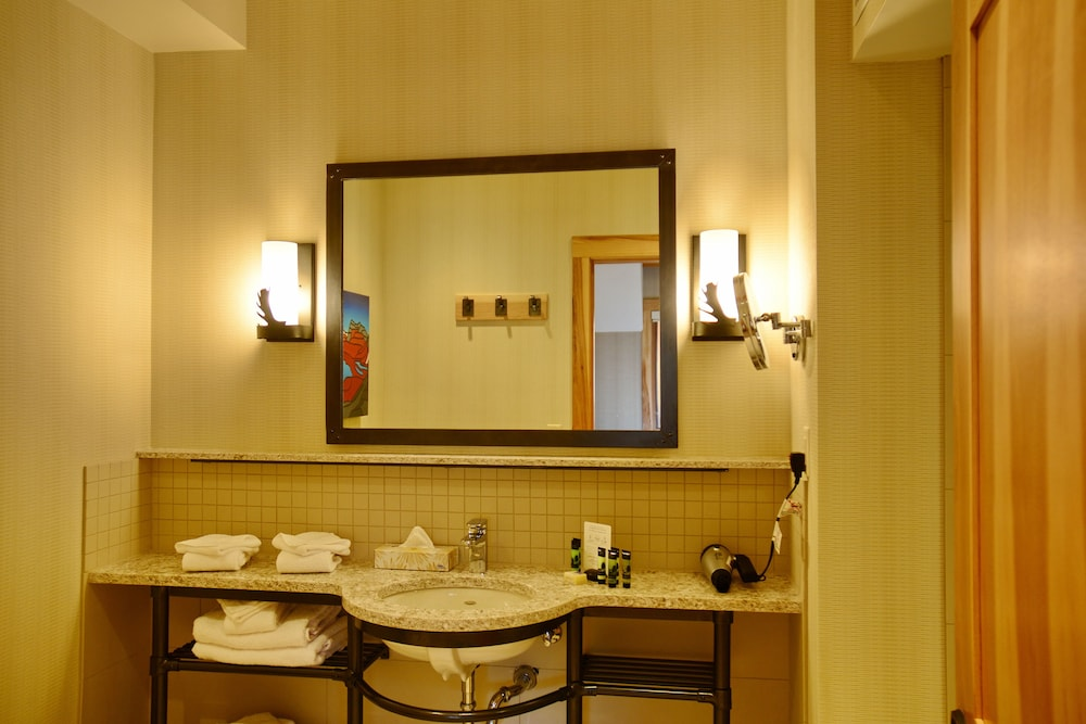 Bathroom, Moose Hotel And Suites