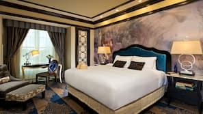 Premium bedding, in-room safe, laptop workspace, blackout drapes