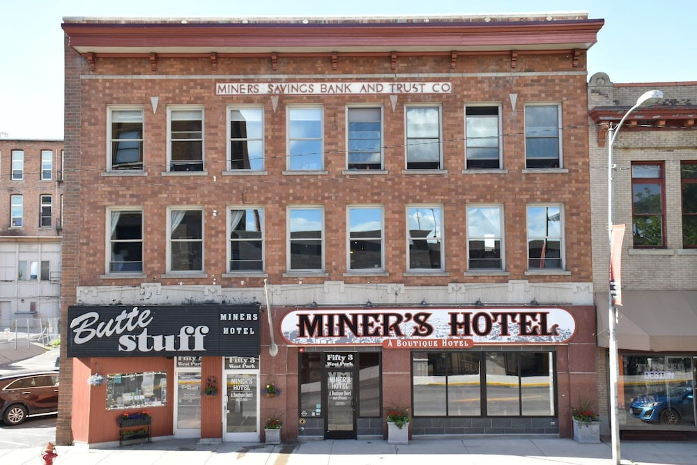 Front of Property, The Miner's Boutique Hotel