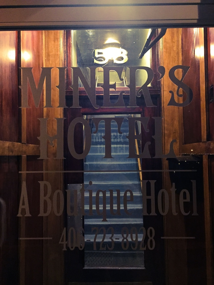 Property Entrance, The Miner's Boutique Hotel