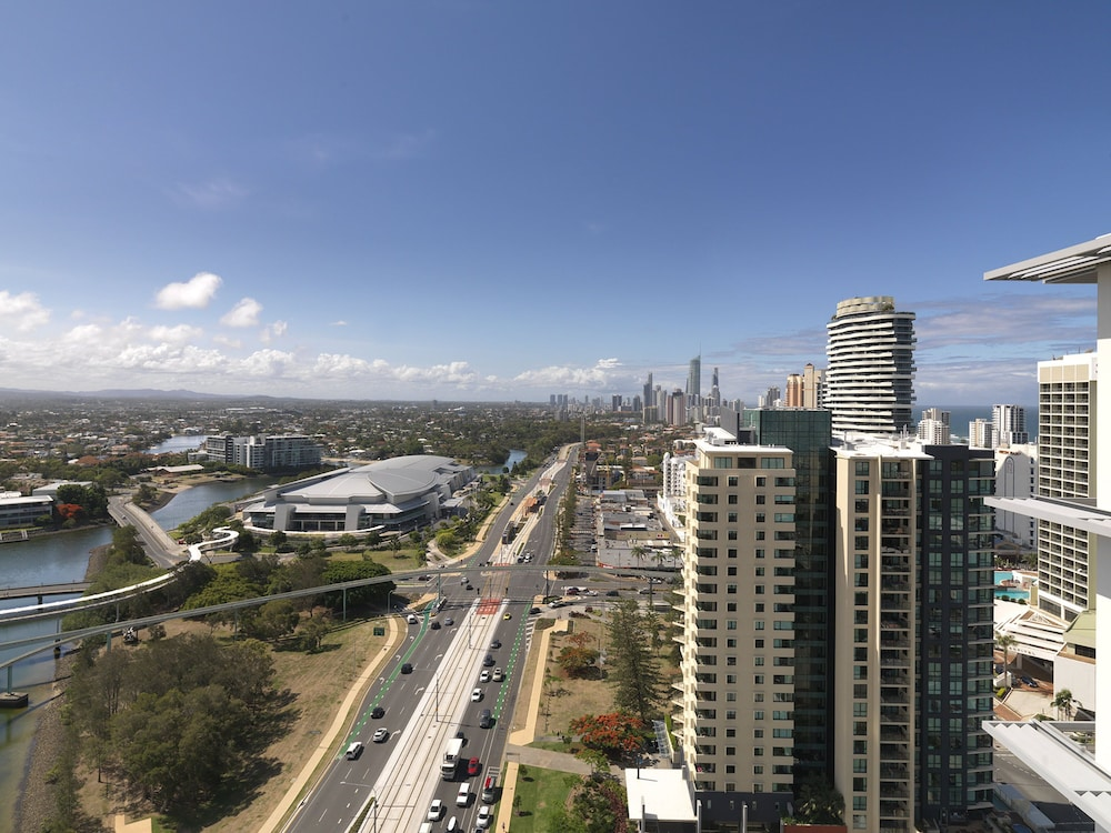 View from Property, Meriton Suites Broadbeach, Gold Coast