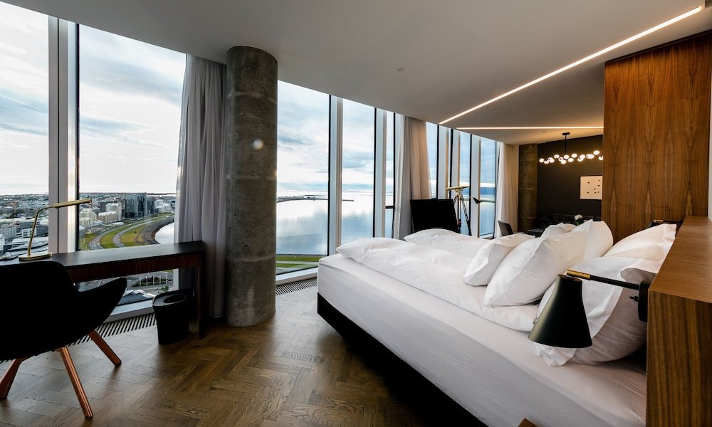 Living Room, Tower Suites Reykjavik