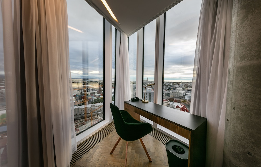 View from Room, Tower Suites Reykjavik