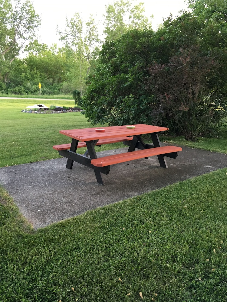 BBQ/Picnic Area, The Triangle Motel
