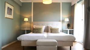 Een kluis op de kamer, babybedden, gratis wifi, beddengoed