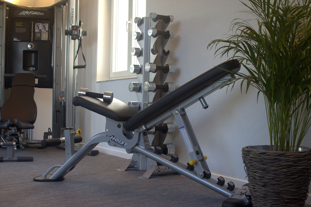 Gym, Marco Polo Business Apartments - Wohlen