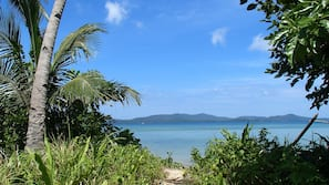 Private beach nearby, snorkeling