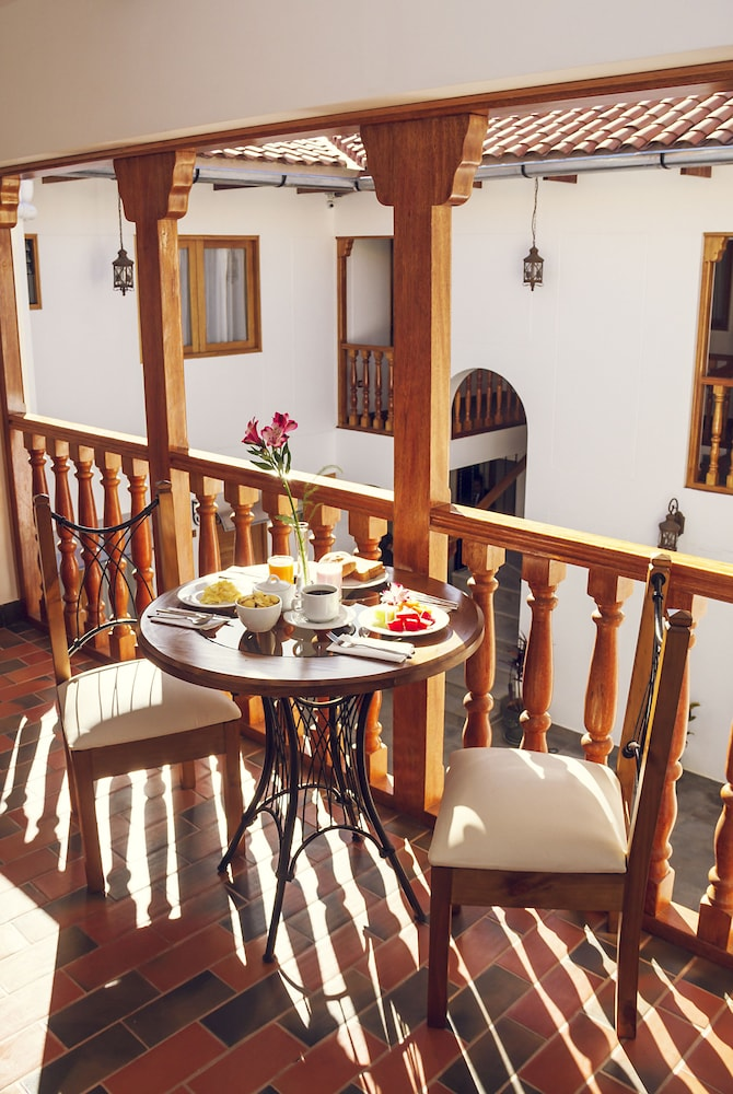 Breakfast Area, Estancia San Blas