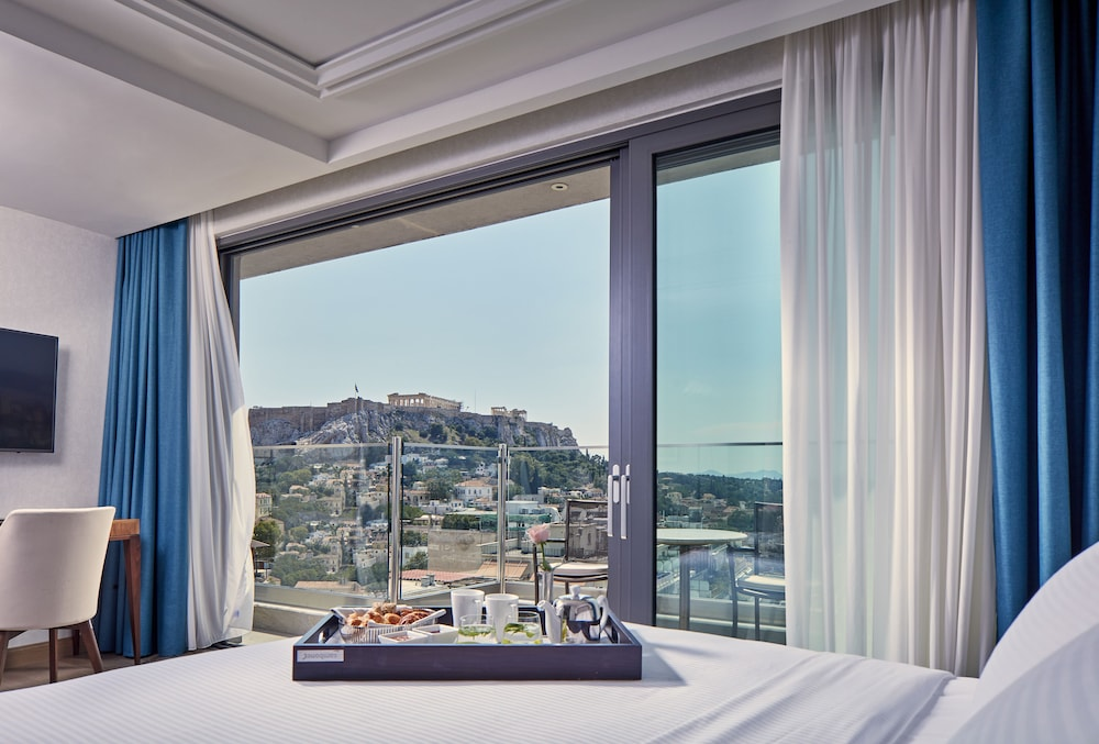 View from Room, Electra Metropolis Athens