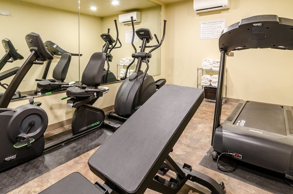 Fitness Facility, Cobblestone Inn & Suites - Ord