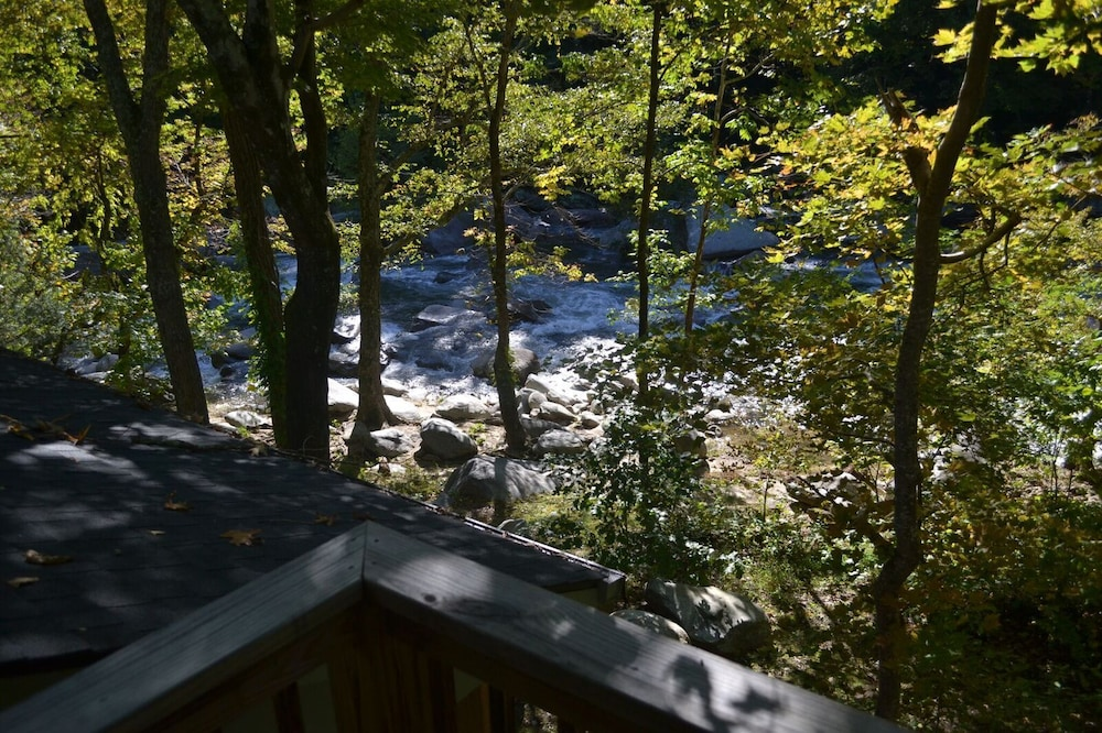 View from Room, The Esmeralda Inn at Lake Lure