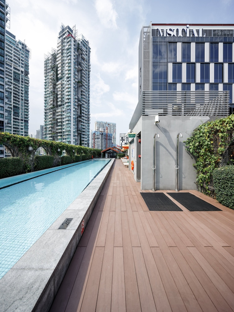 Indoor/Outdoor Pool, M Social Singapore (SG Clean)