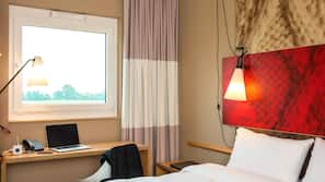 In-room safe, laptop workspace, cribs/infant beds, free WiFi