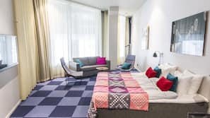 Strykjärn/strykbräda, gratis wi-fi och sängkläder