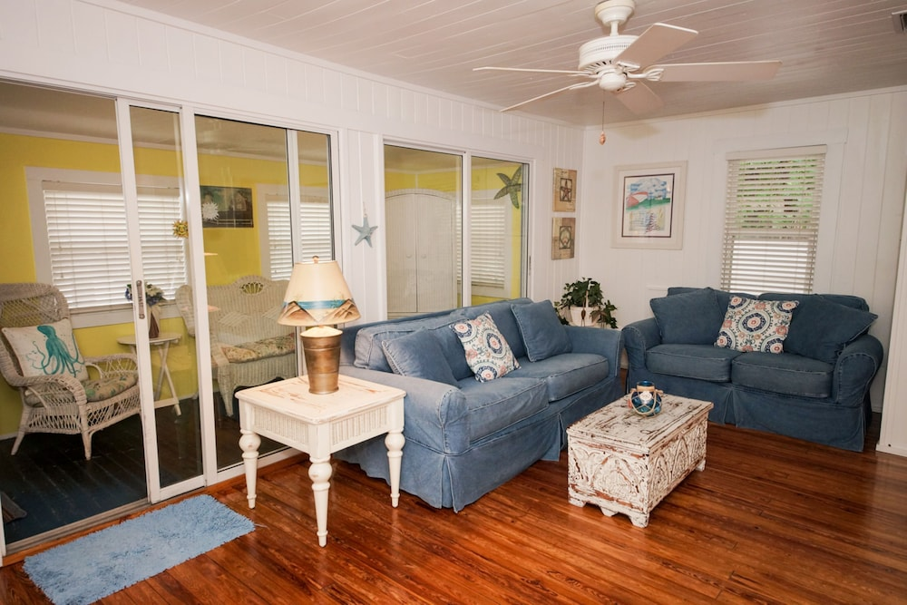 Living Area, Anna Maria Beach Cottages