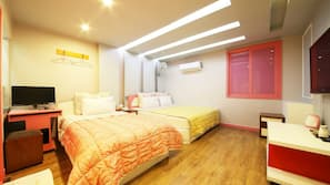 高級寢具、隔音、免費 Wi-Fi、方便輪椅出入