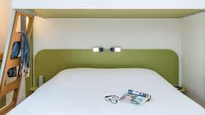 Escritorio, sistema de insonorización, tabla de planchar con plancha