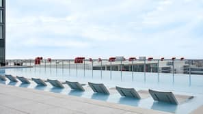 2 outdoor pools, open 6:00 AM to 10:00 PM, cabanas (surcharge)