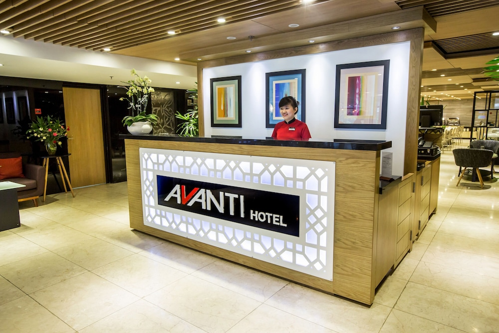Check-in/Check-out Kiosk, Avanti Hotel