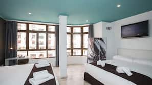 Ropa de cama de alta calidad, decoración individual, escritorio