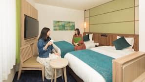 메모리폼 소재 침대, 객실 내 금고, 무료 WiFi
