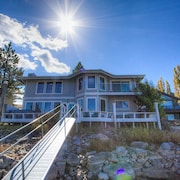 Tahoe Keys Waterfront Home w/dock and hot tub by RedAwning