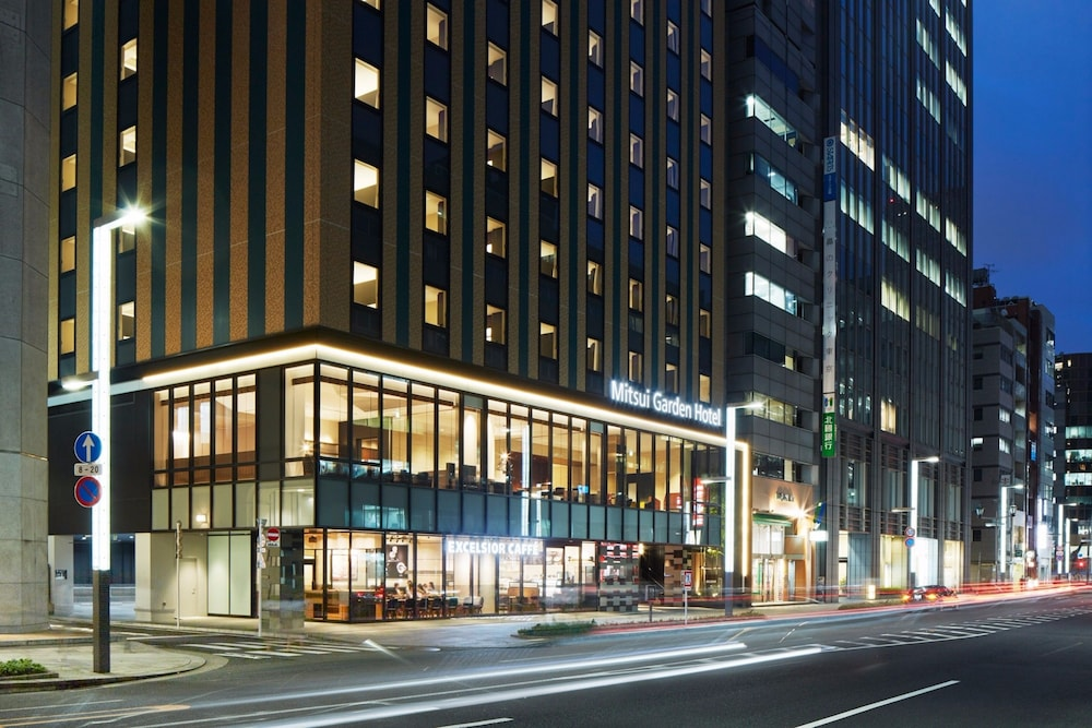 Front of Property - Evening/Night, Mitsui Garden Hotel Kyobashi