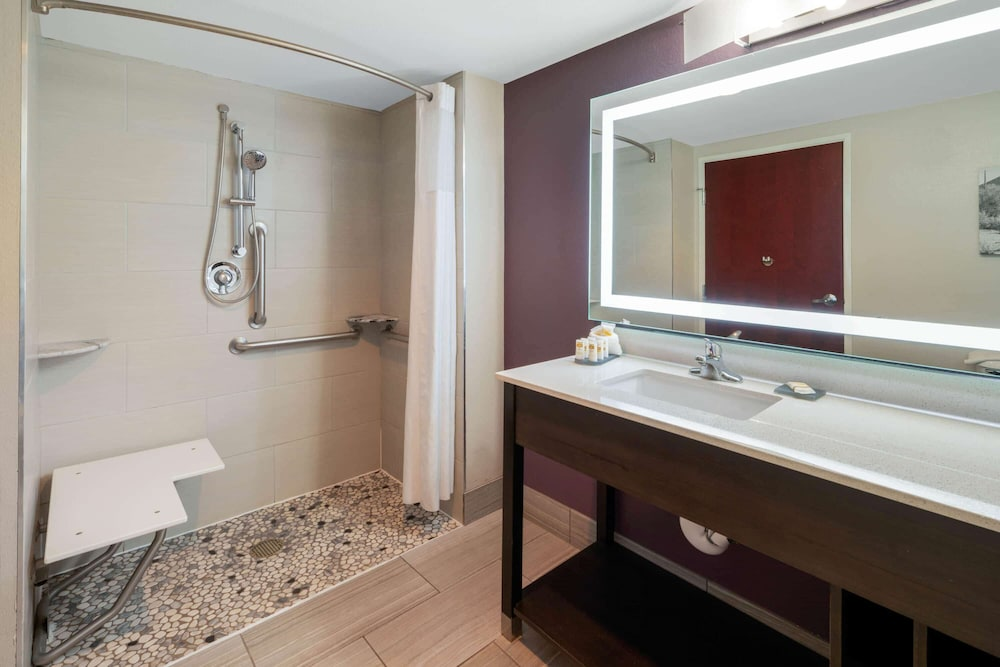 Bathroom Shower, La Quinta Inn & Suites by Wyndham Williams-Grand Canyon Area