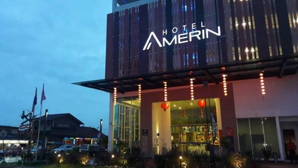Front of Property - Evening/Night, Amerin Hotel Johor Bahru