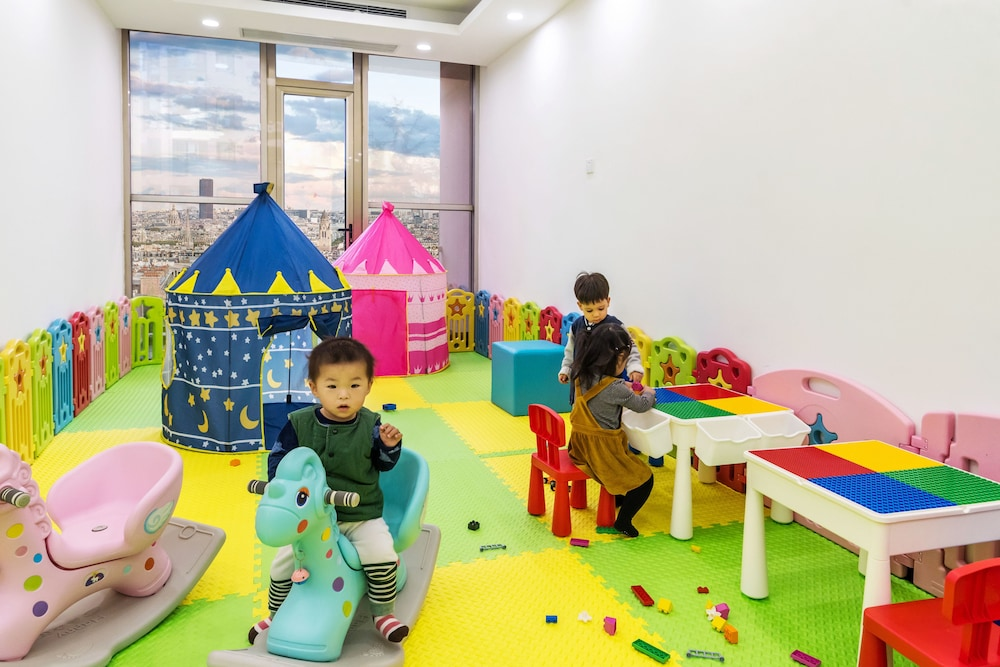 Children's Play Area - Indoor, Green Court Residence Jinqiao Diamond Shanghai