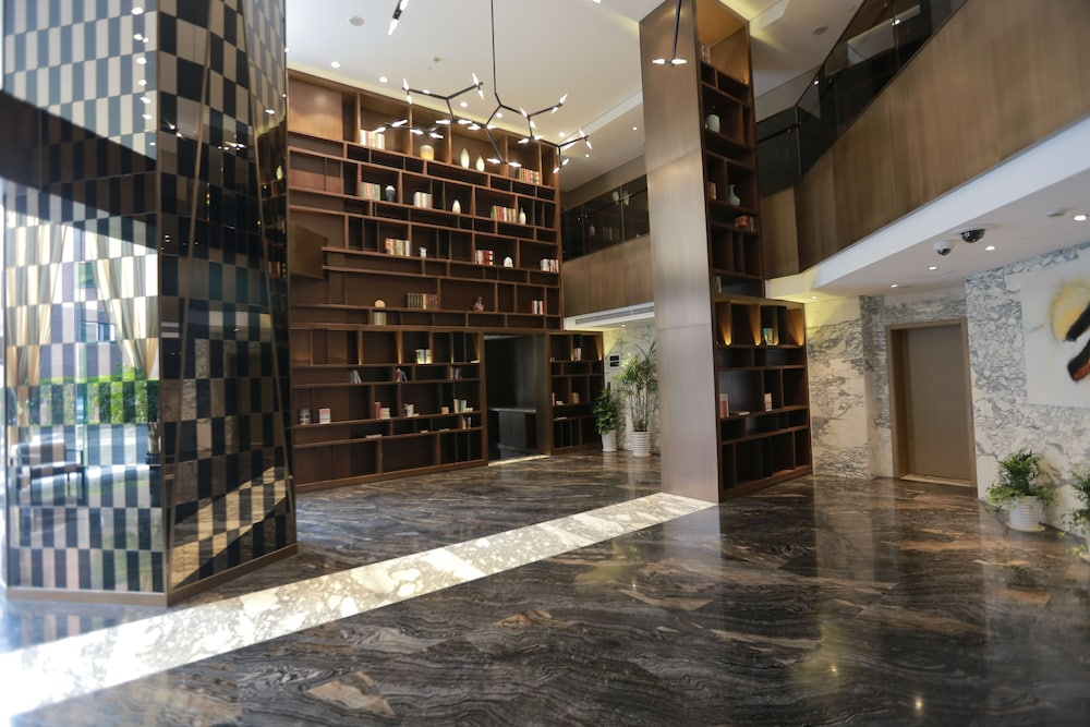 Interior Entrance, Green Court Residence Jinqiao Diamond Shanghai
