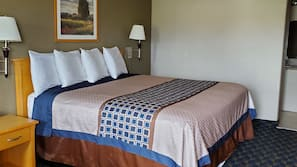 Pillowtop beds, blackout drapes, free wired internet, bed sheets