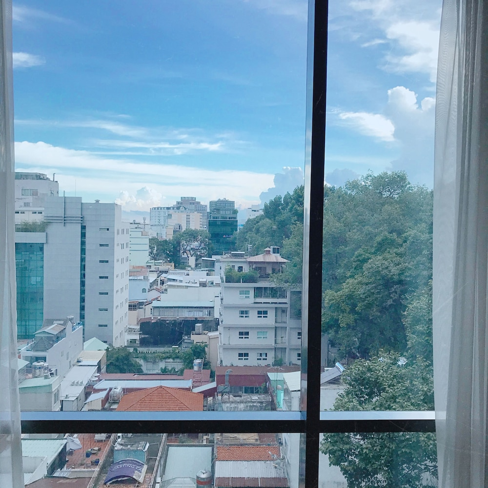 City View from Property, Fusion Suites Saigon