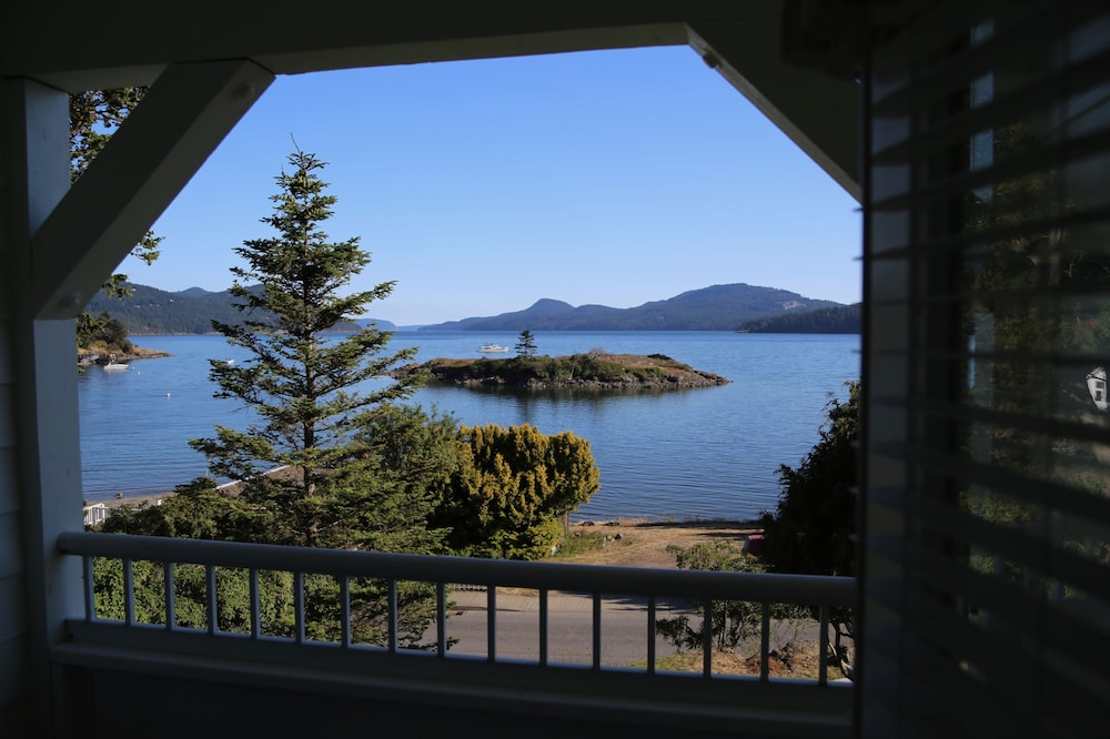 View from Property, Outlook Inn on Orcas Island
