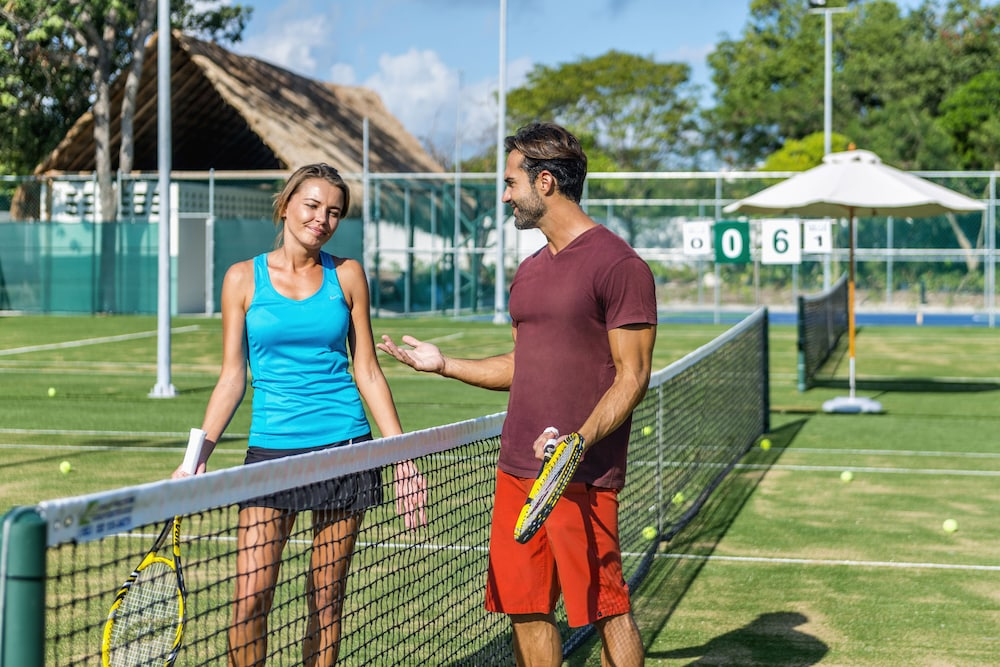 Tennis Court, Ocean Riviera Paradise El Beso - All Inclusive - Adults Only