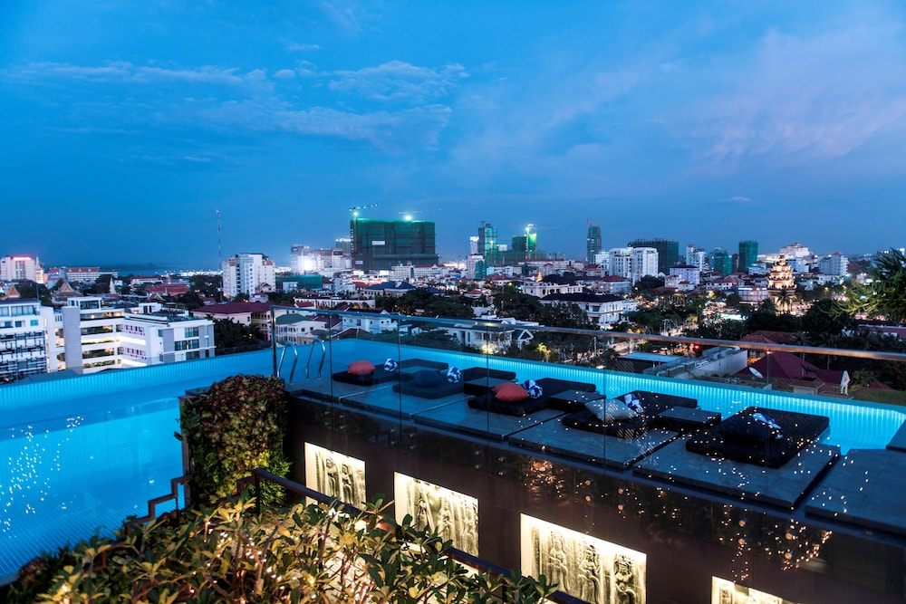 View from Property, Aquarius Hotel & Urban Resort Phnom Penh