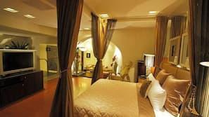 高級寢具、免費 Wi-Fi、床單、方便輪椅出入