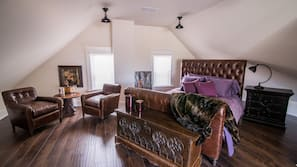 5 bedrooms, premium bedding, individually decorated