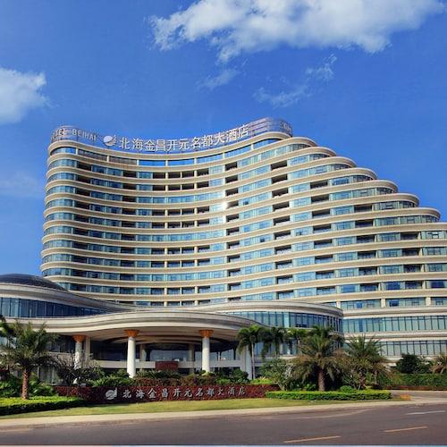 Golden shinning new century grand hotel