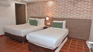 1 dormitorio y ropa de cama