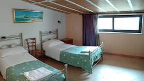 Desk, cots/infant beds, free WiFi, wheelchair access