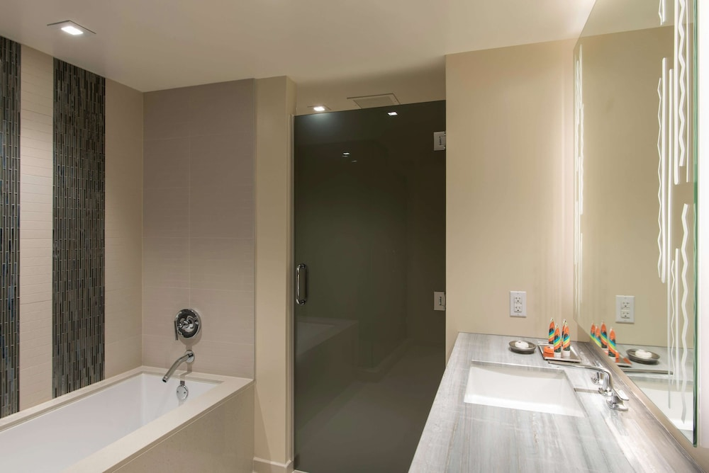 Bathroom, The Grand Islander by Hilton Grand Vacations