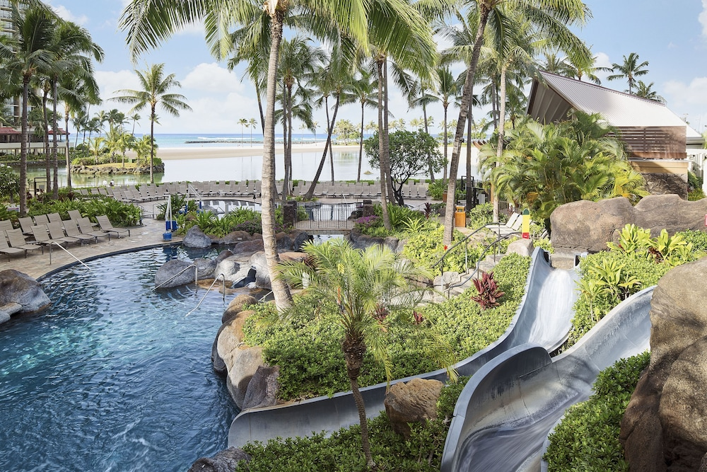 Waterslide, The Grand Islander by Hilton Grand Vacations