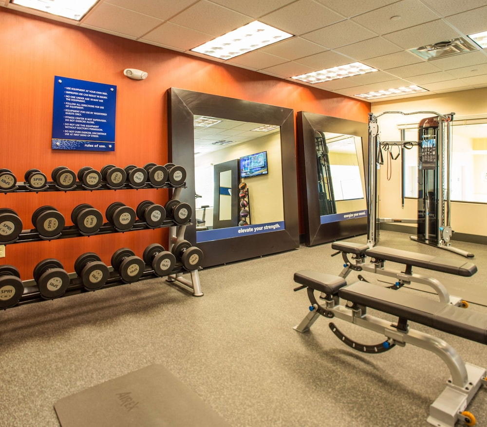 Fitness Facility, Hampton Inn & Suites Whitefish