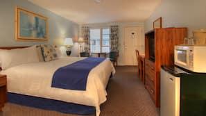 Premium bedding, individually furnished, desk, blackout drapes