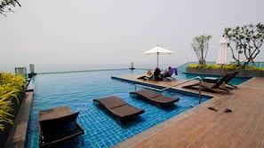 2 室内游泳池,屋顶泳池